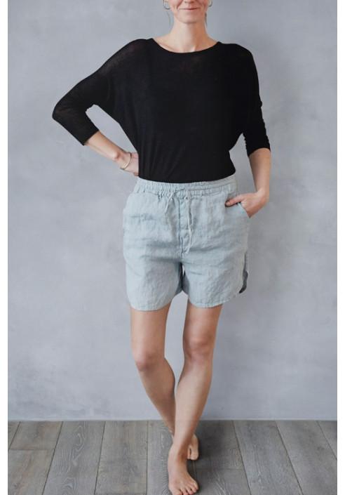 Comfy og lækre shorts i hør, casual og komfortabelt, dansk design, tekstiler & slow living fra VIIL Design