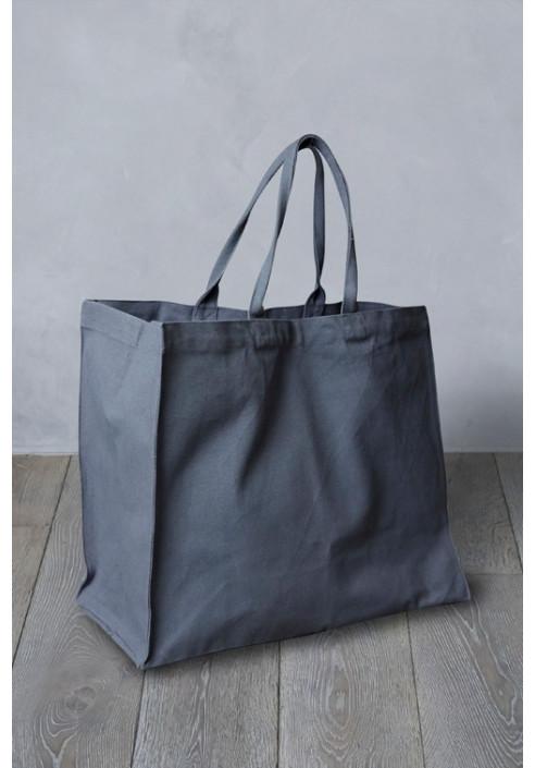 Shopper taske MIO - mørk grå