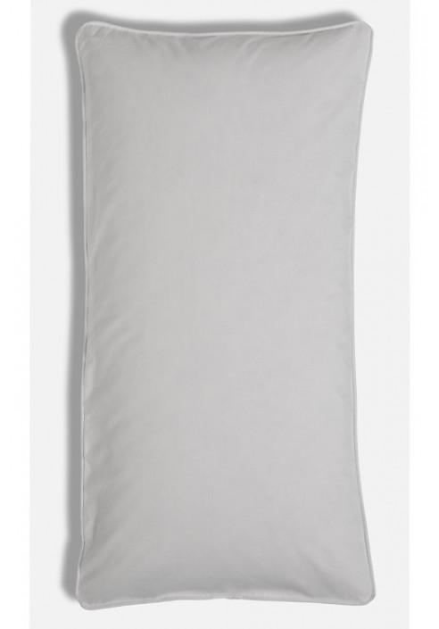 Lysegråt pudebetræk 40x80cm af 100% økologisk bomuld fra VIIL