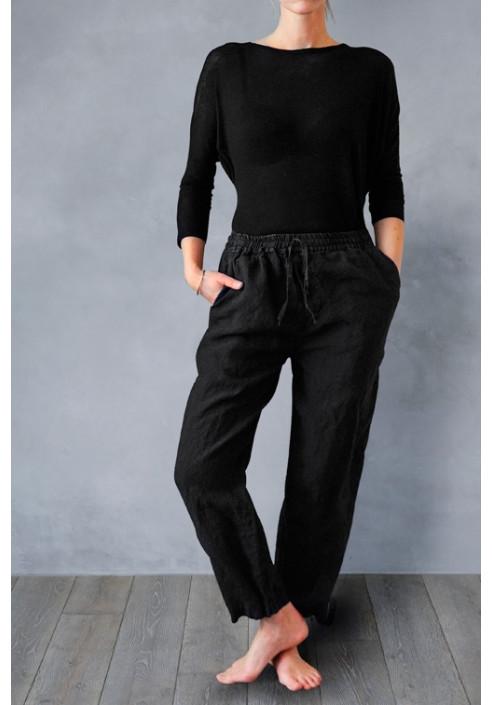 Slow wear bukser til kvinder, 100% hør - dansk design, tekstiler & slow living fra VIIL design