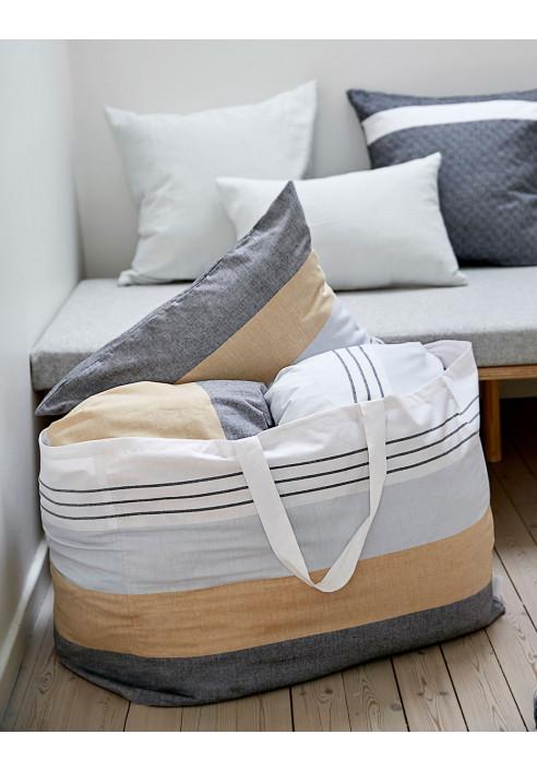 Taske til dyner og weekendture - flot design i naturmaterialer fra VIIL