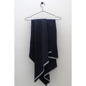 Badehåndklæde NOLU - mørk blå