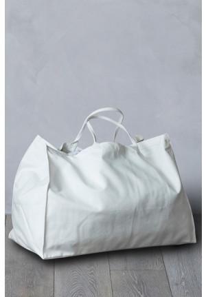 Stor shopper taske - til indkøb, weekendture og strandturen - økologisk bomuld fra VIIL