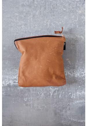 Makeup pung i blødt læder i dansk design  fra VIIL