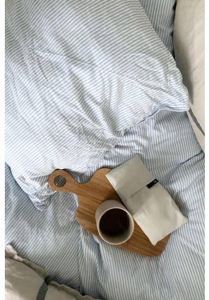 Blødt og lækkert stribet sengetøj af økologisk bomuld