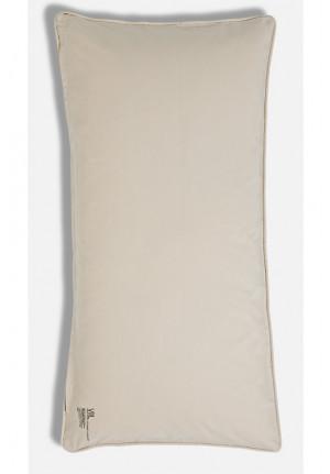 Beige farvet pudebetræk 40x80cm af 100% økologisk bomuld fra VIIL