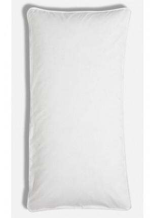 Hvidt pudebetræk 40x80cm af 100% økologisk bomuld fra VIIL