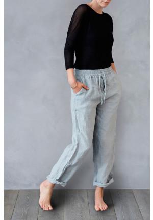 Afslapningsbukser i hør - comfy og rart, dansk design, tekstiler, & slow living fra VIIL Design