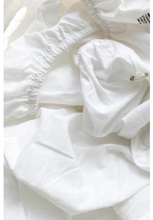 Formsyet lagen SEH 140x200cm - Hvid