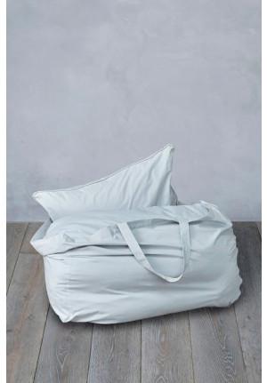 Stor taske i okologisk bomuld til sengetojet fra VIIL