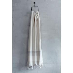 Bai kvalitets hammam håndklæde - råhvid