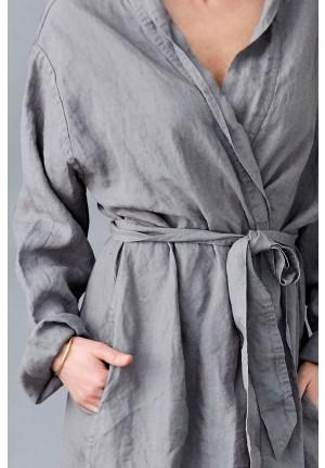 Badekåbe til kvinder i lækker hør kvalitet. Dansk design og slow living fra VIIL design