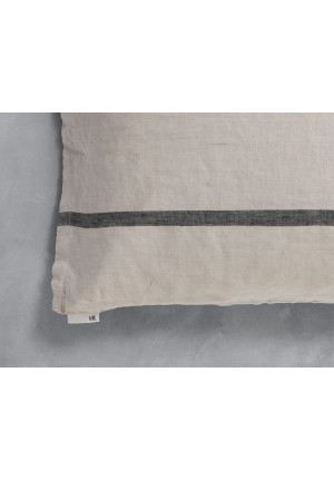 Pudebetræk lys grå 40x80 cm. HAO fra VIIL