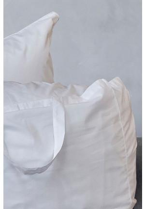 Hvid stor taske i oko bomuld fra VIIL