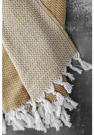 Plaider i bomuld fra VIIL - taeppe til sofaen eller terrassen
