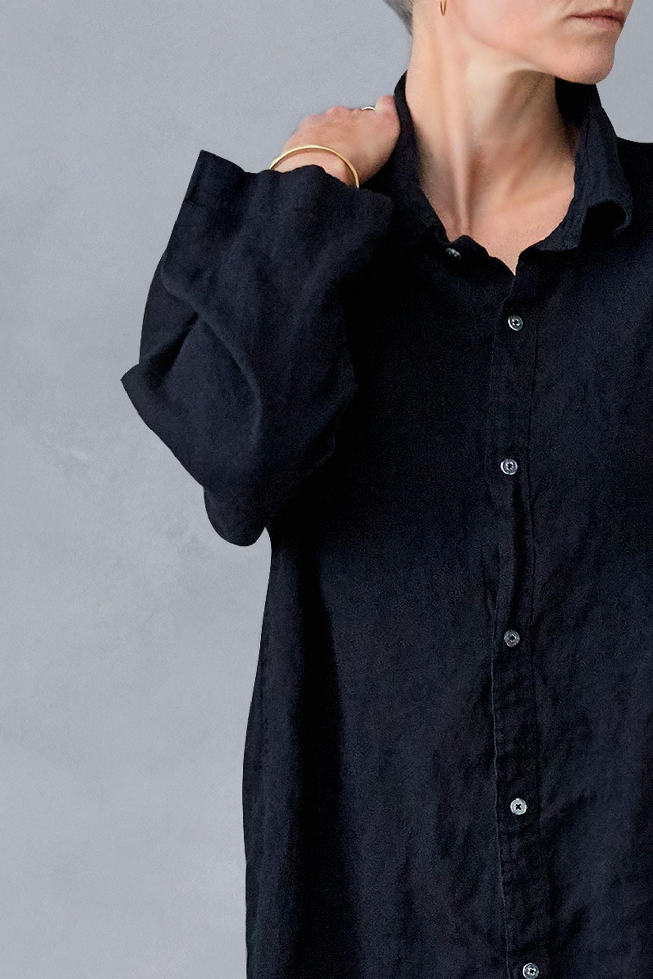 444340ae0da ... Hørskjorte til kvinder fra VIIL, dansk design, tekstiler & slow living