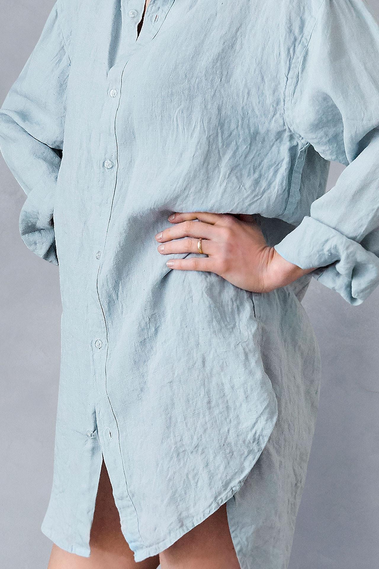 02cb324eab0 ... Hørskjorte til kvinder fra VIIL, dansk design, tekstiler & slow living  ...