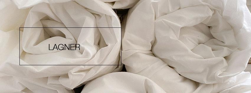 Lagner af 100% økologisk bomuld - fra VIIL